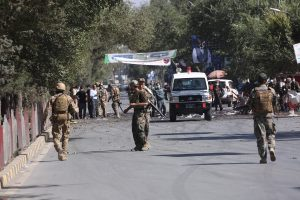 4 killed in blast in Kabul mosque; several injured