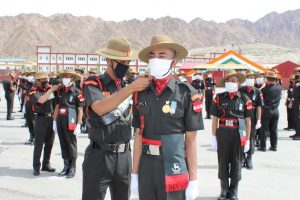 127 soldiers inducted into Ladakh Scouts