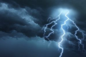 Lightning strike alerts on mobile phones in Uttar Pradesh