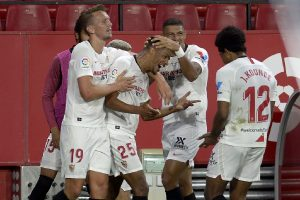 Sevilla beat Betis on return of top-flight football to Spain