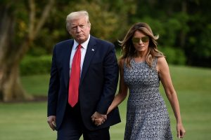 First Lady Melania Trump asks people to stay inside their homes