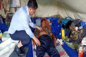 Mizoram's doctor-turned-politician treats sick at Indo-Myanmar border