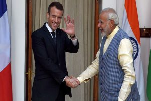 French President writes to PM Modi, extends all support to India on cyclone AMPHAN aftermath