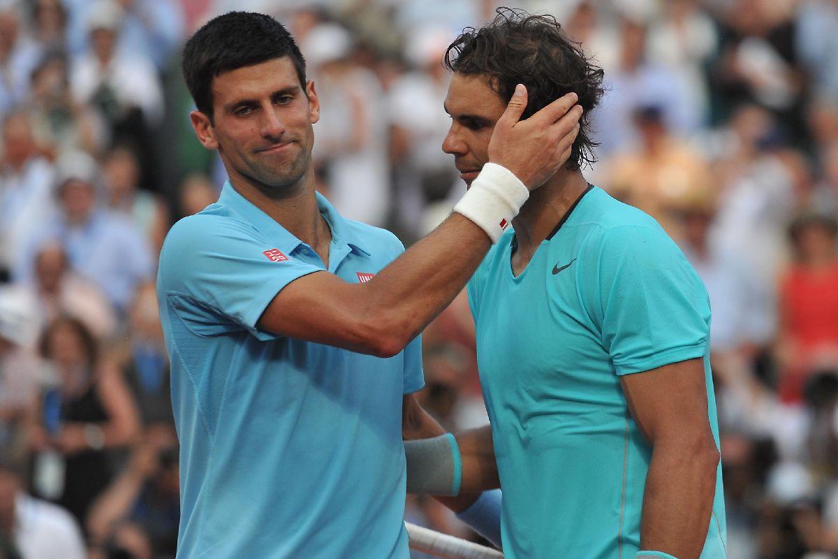 Rafael Nadal, Novak Djokovic, Toni Nadal