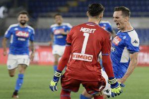Napoli overtake Verona 2-0 in Serie A