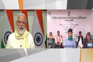PM Modi launches Garib Kalyan Rojgar Yojana for migrant workers, rural citizens