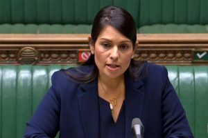 Won't be silenced: Priti Patel as UK opposition MPs accuse her of 'gaslighting' racism