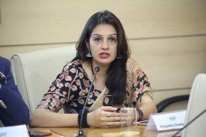 Reduce gap for vaccination of students: Priyanka Chaturvedi