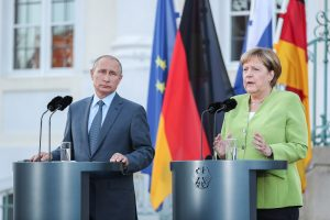 Russian President Putin, Angela Merkel discuss Libya, Ukraine over phone