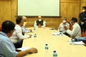 Amit Shah interacts with district-level officials of UP and Haryana, stresses on increased Corona testing in NCR