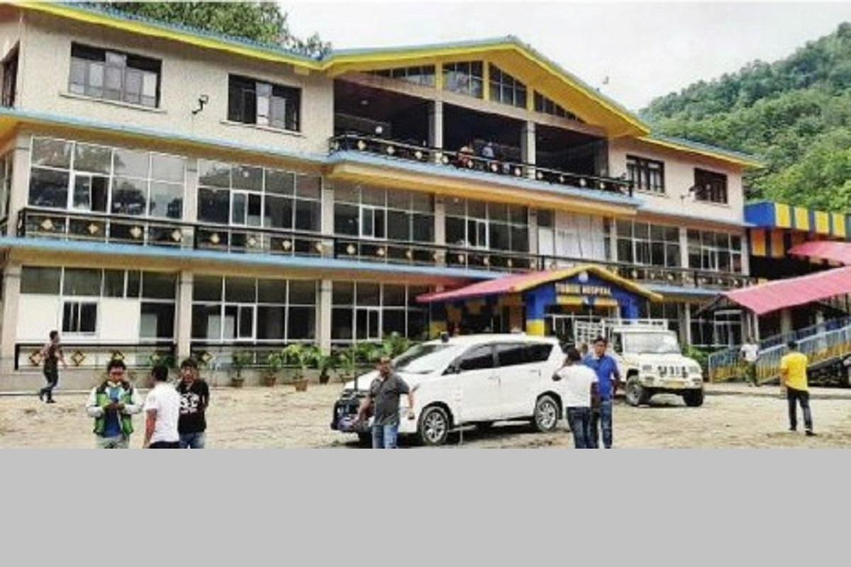 GTA, Covid Level-II hospital, Darjeeling, Tribeni Tourist Lodge, Kalimpong