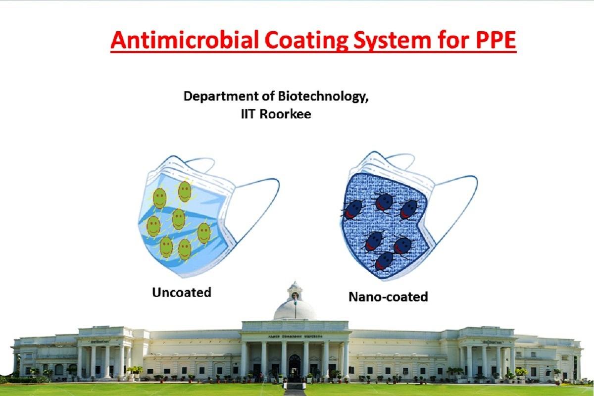 IIT Roorkee, COVID-19, IIT, Roorkee, nano-coating system