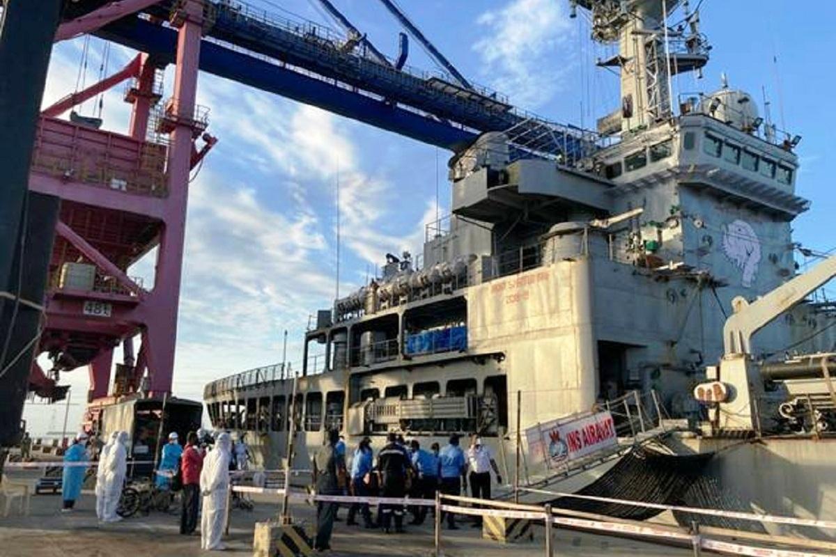 Indian Navy, Operation Samudra Setu, Samudra Setu, COVID-19 pandemic