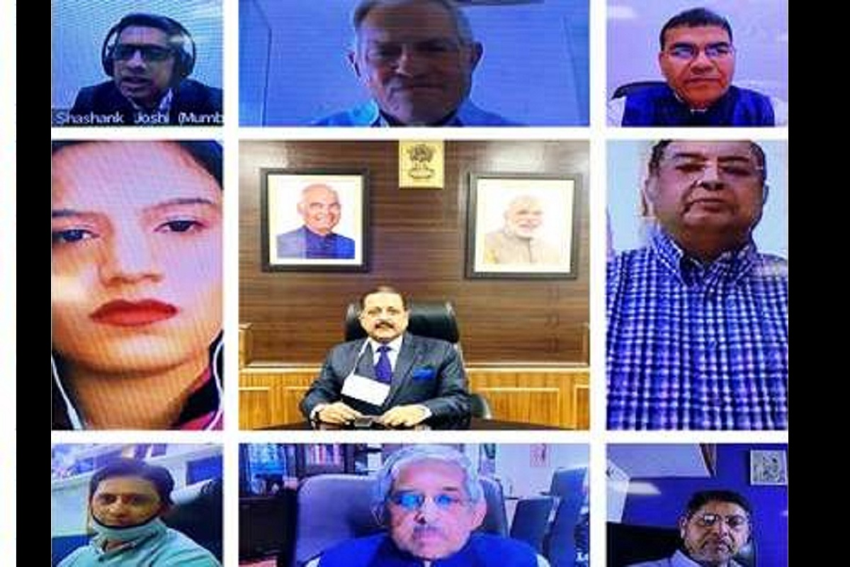 COVID, Diabetics, Dr Jitendra Singh, Dia-V Con 2020, Jitendra Singh, Corona