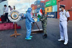 OP Samudra Setu: INS Jalashwa departs Male for Tuticorin with 700 Indians