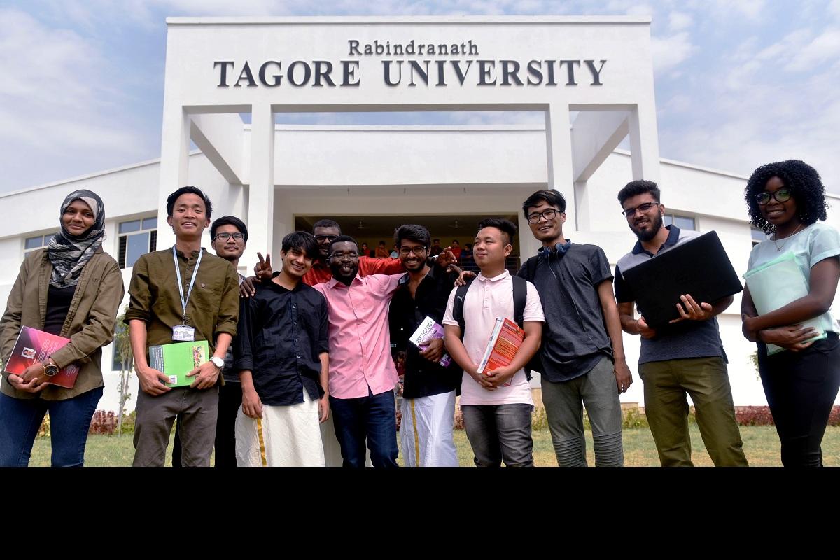 Rabindranath Tagore University, RNTU, COVID-19 lockdown, UGC