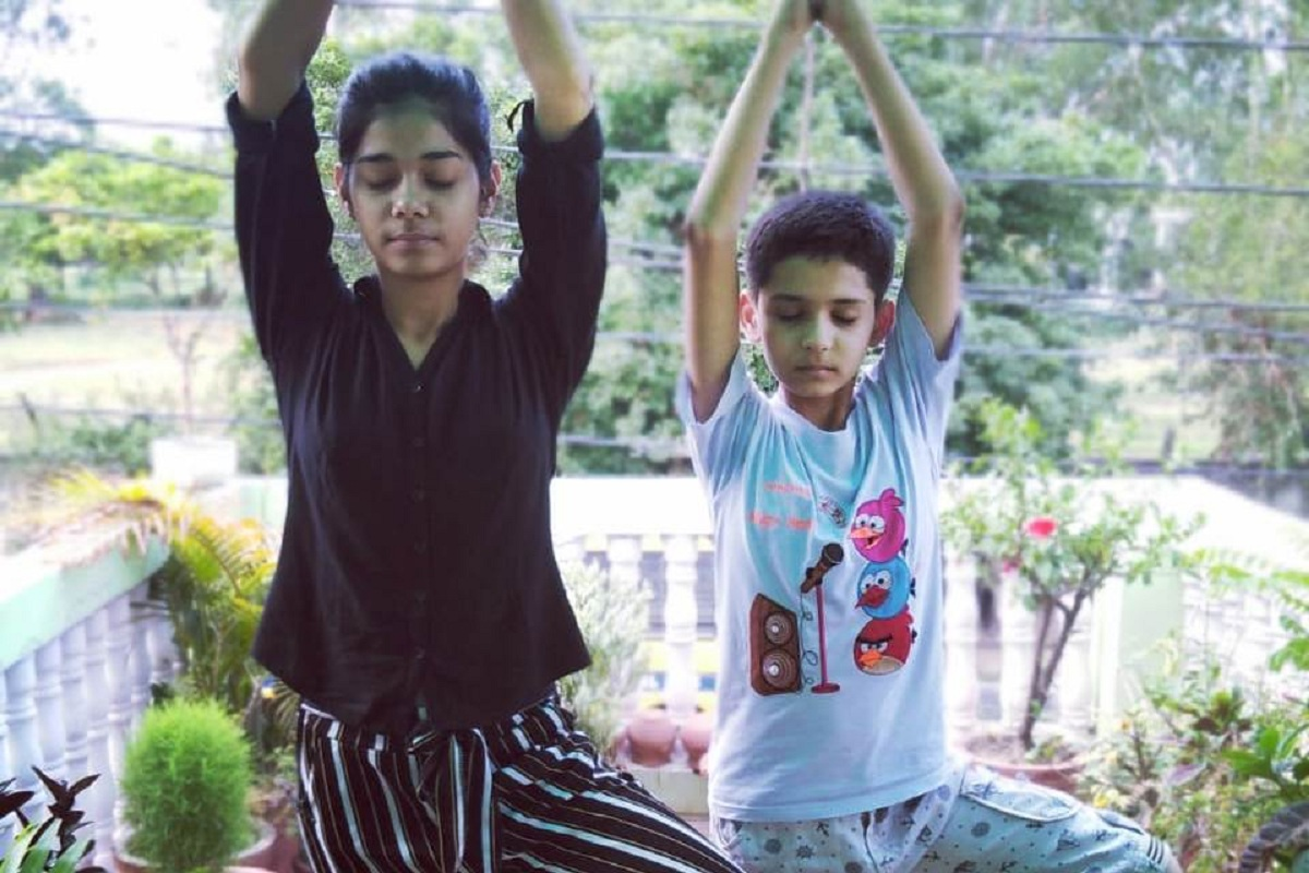 Yoga day, StudoPrakriti, StudoMatrix, COVID-19