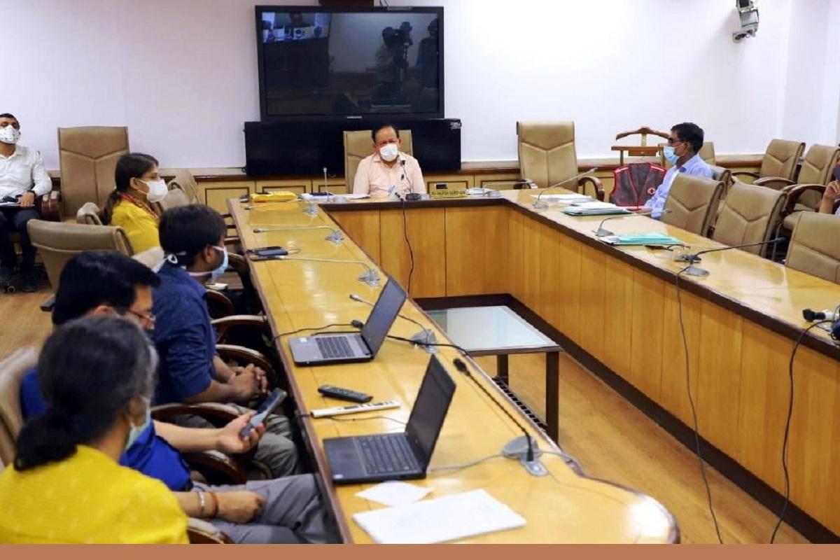 Harsh Vardhan, eBloodServices, E-Raktkosh, Centre for Development of Advanced Computing, Digital India, Narendra Modi