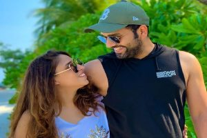 Rohit Sharma reveals why wife Ritika got emotional after his third double hundred