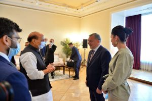 With Rajnath Singh in Moscow, India pushes Russia to speed up defence contracts amid tensions with China