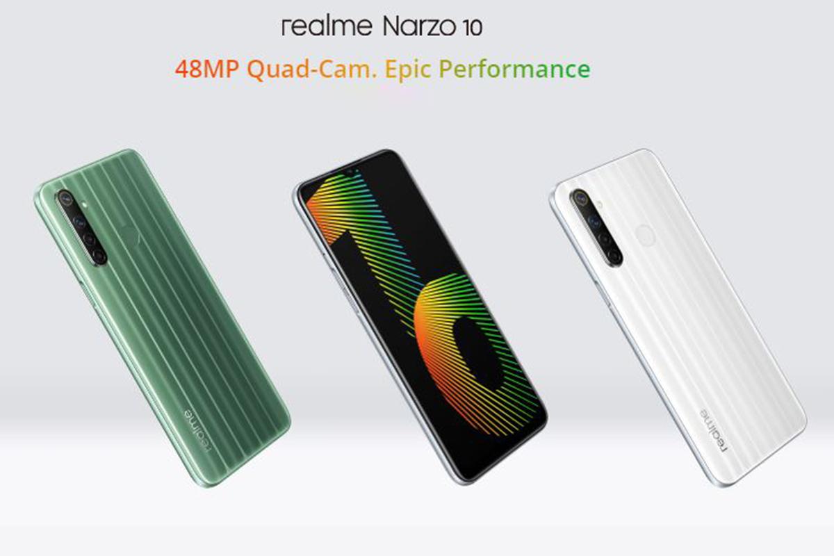 Realme Narzo 10A, Realme Narzo 10A Price in India, Realme