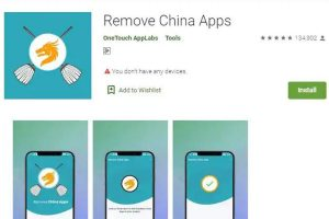 Google clarifies, after it takes down smartphone service targeting Chinese apps
