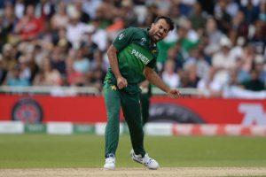 Ready to return for England Test series: Wahab Riaz