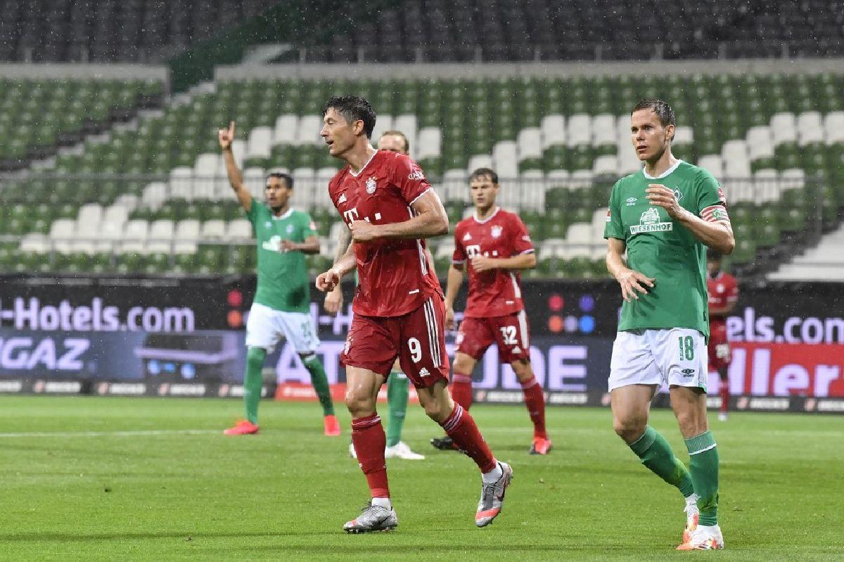 Bayern Munich, Bremen, Bundesliga, Robert Lewandowski
