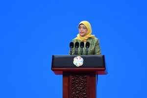 Singapore Prez Halimah Yacob dissolves parliament, paves way for polls