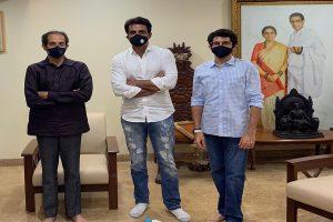 Sonu Sood meets Uddhav Thackeray after Shiv Sena says 'mahatma' actor 'adopted by BJP'
