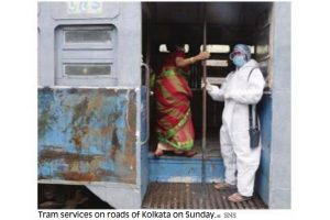 Tram services resume in City of Joy