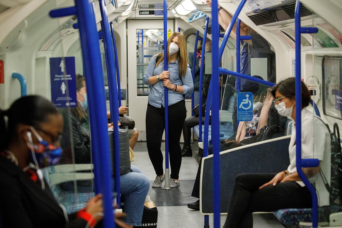 Coronavirus: Face coverings mandatory on public transport in England