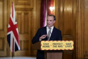 UK Foreign Secretary Raab accuses Russia of trying to 'exploit' COVID-19 pandemic