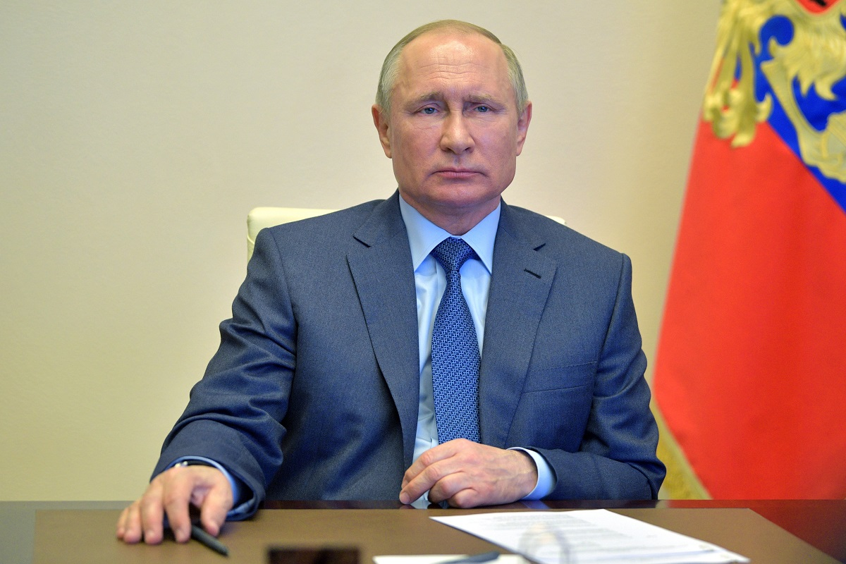 Russian President Putin Has Disinfection Tunnel To Protect Him From Coronavirus The Statesman