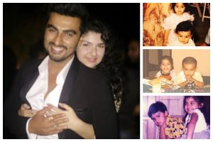 Arjun Kapoor turns 35: Sisters Anshula, Sonam Kapoor wish him happy birthday with adorable throwback pictures