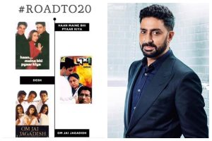 Abhishek Bachchan recalls shedding his awkwardness as an actor