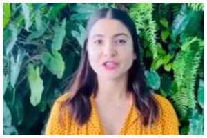 Anushka Sharma urges people to treat animals, plants with kindness