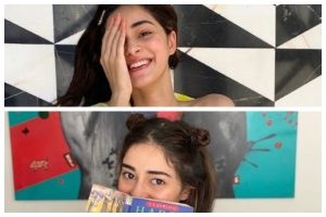 Ananya Panday's inside pictures of her 'So Positive' magazine photoshoot