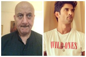 Watch | Anupam Kher breaks down as he remembers his on-screen son Sushant Singh Rajput