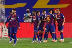 La Liga: Ivan Rakitic goal against Athletic Bilbao takes Barcelona back to top in Spain