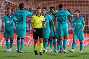 Lionel Messi scores 1, assists 2 in Barcelona's grand comeback over Mallorca in La Liga