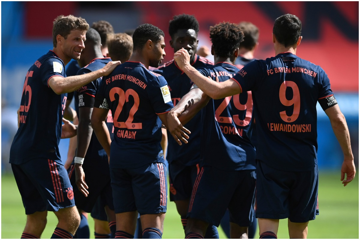 Bayern Munich Continue March To Bundesliga Title With Win Over Bayer Leverkusen