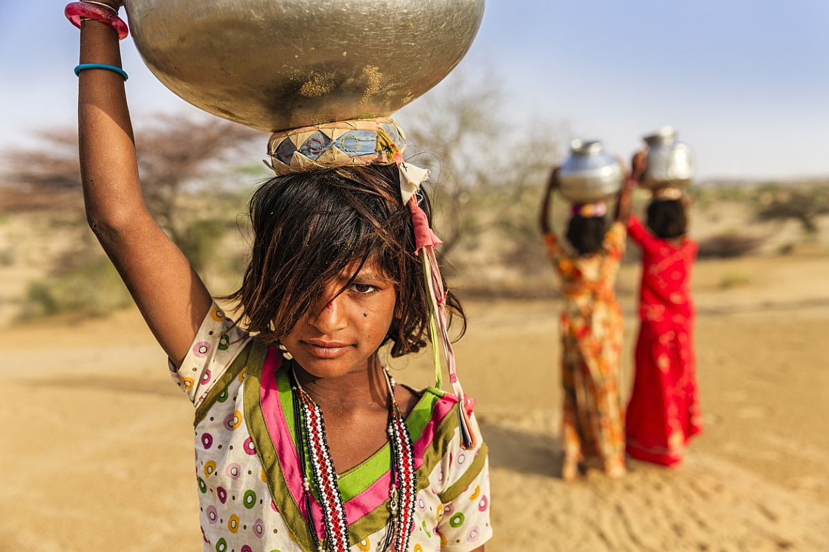 The deprived child, Unicef, United Nations Children's Fund, India
