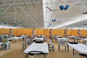 ITBP takes over 10,000 bed COVID-19 care centre in Delhi