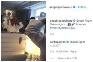 Watch | Deepika Padukone trolls Kartik Aaryan for asking question about Cannes shenanigans