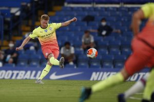 'Knew it was impossible to catch Liverpool,' says Manchester City midfielder Kevin De Bruyne