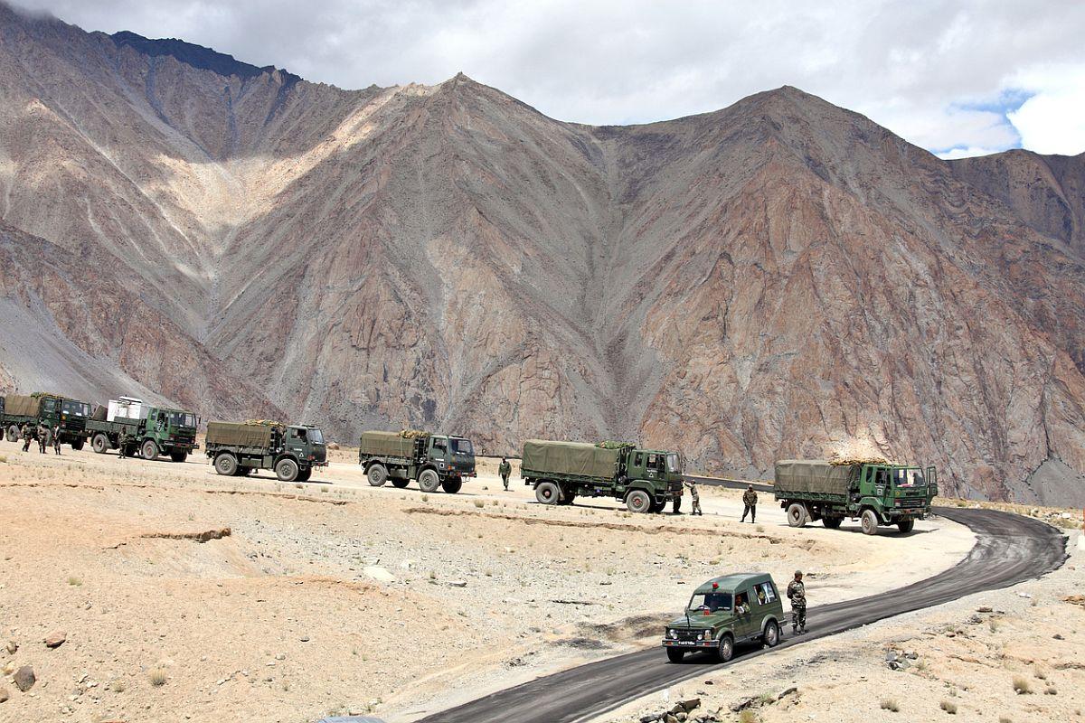India, China, Galwan valley