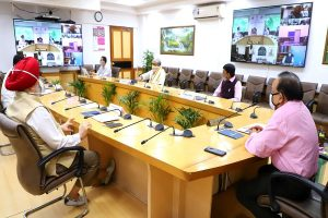Harsh Vardhan holds 16th high-level meeting of Group of Ministers on Covid-19 situation