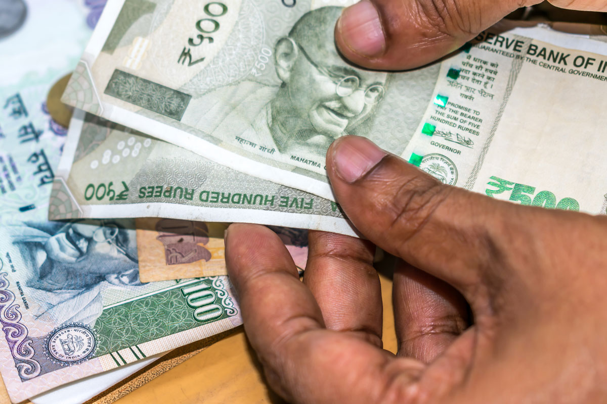 Indian Rupee, US dollar, domestic equity