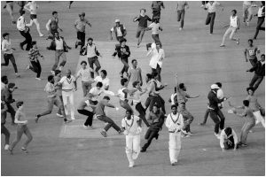 OTD in 1983: Thousands of ticketless fans cause chaos around Lord's Cricket Ground during Cricket World Cup final